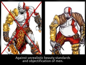 unrealistic standards: they happen to us all