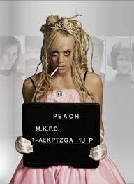 Peach in jail