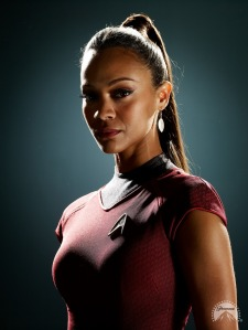 New Uhura: now more non-speaking than ever
