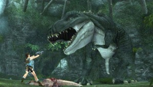you take down a dinosaur with twin pistols and you're cool in my book regardless of clothing